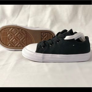233bed61ae7 Converse Shoes - CONVERSE Infant CTAS II OX Black White Navy Size 7